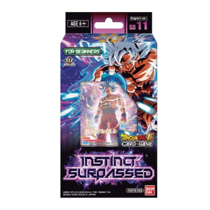 DRAGON BALL SUPER CARD GAME Стартово Тесте 11 ~INSTINCT SURPASSED