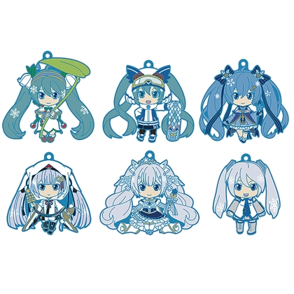 Character Vocal Series 01: Hatsune Miku Nendoroid Plus PVC Keychain 6-Pack Vol. 2 6 cm