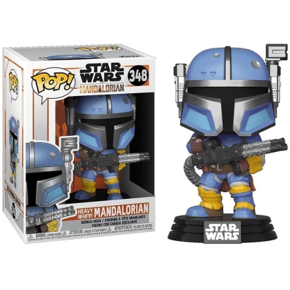 Star Wars The Mandalorian POP Vinyl Колекционерска Фигурка - Heavy Infantry Mandalorian