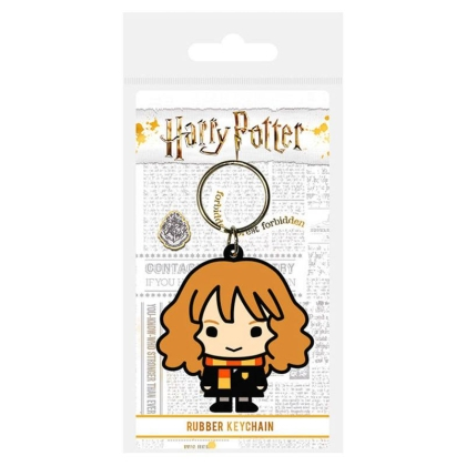 Harry Potter Rubber Keychain - Hermione Granger