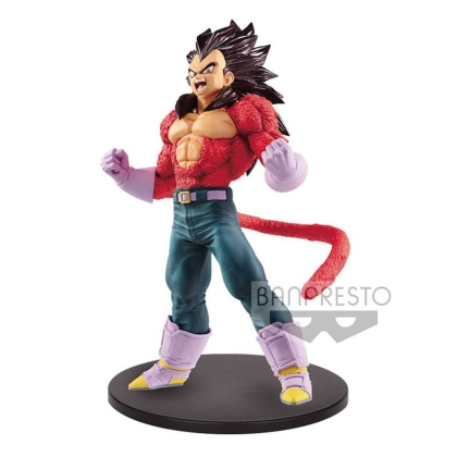 Dragon Ball GT Blood of Saiyans Super Saiyan Vegeta Metallic Hair Color figure 20cm