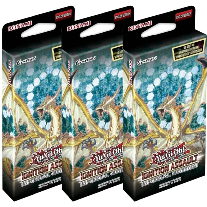 "HOBBY COMBO: 3 X "" Yu-Gi-Oh!TCG "" Ignition Assault SPECIAL EDITION (3 Пакета)"