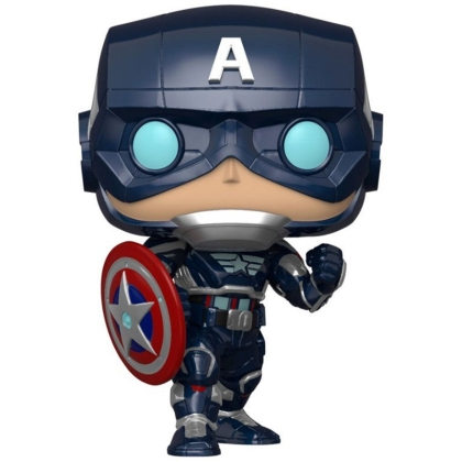 Marvel Avengers: Funko POP Фигурка Gamerverse - Captain America Bobble-Head