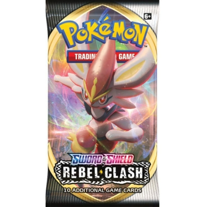 Pokemon TCG Sword and Shield 02: Rebel Clash - Booster