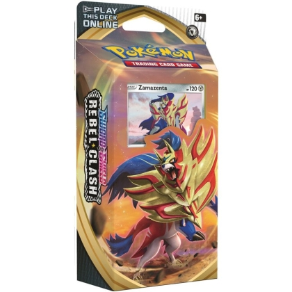 Pokemon TCG Sword and Shield 02: Rebel Clash Themed Deck- Zamazenta
