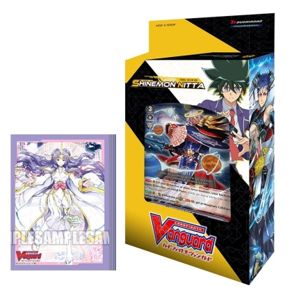 HOBBY COMBO: Cardfight!! Vanguard Тесте за игра Shinemon Nitta + Протектори за карти 70 броя - Genesis