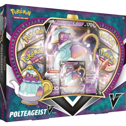 Pokemon TCG May V Box - Polteageist