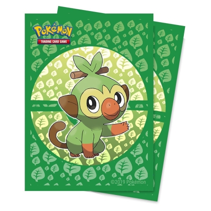 Pokemon! TCG: Протектори за карти 65 броя - Grookey