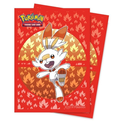 Pokemon! TCG: Протектори за карти 65 броя - Scorbunny