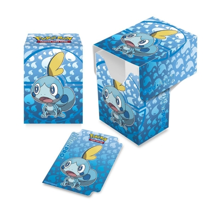 UP - Full-View Deck Box - Pokemon Sword and Shield Galar Starters Sobble