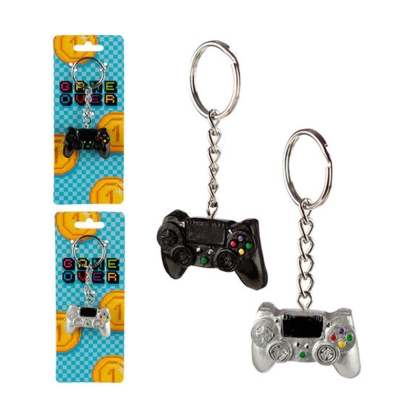Game Over Game Controller assorted keychain