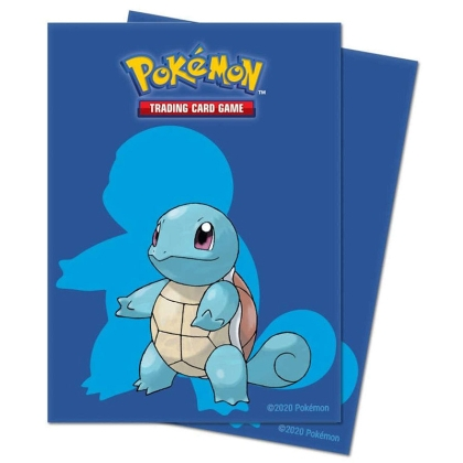 Pokemon! TCG: Протектори за карти 65 броя - Squirtle