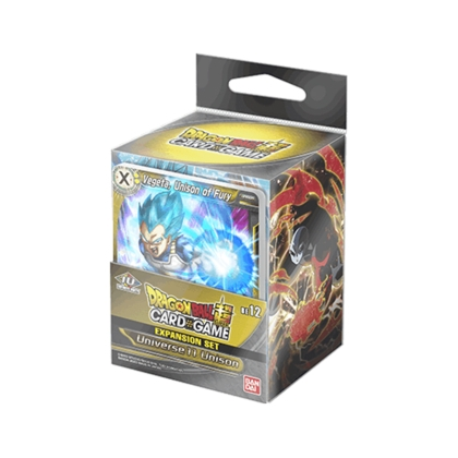 DRAGON BALL SUPER CARD GAME Expansion Set 12 -Universe 11 Unison-