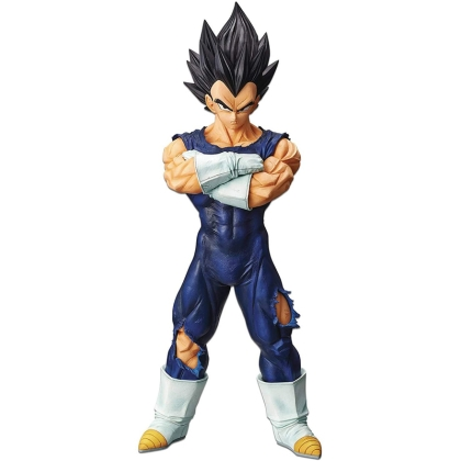 Dragon Ball Z: Grandista Nero - Vegeta Statue (26cm) (Includes Scouter Ball Chain)