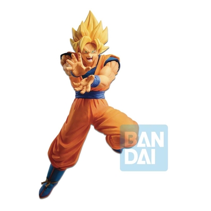 Dragon Ball Z PVC The Android Battle Statue Super Saiyan Son Goku