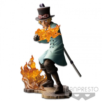 One Piece Stampede Posing Series PVC Statue Sabo 15 cm
