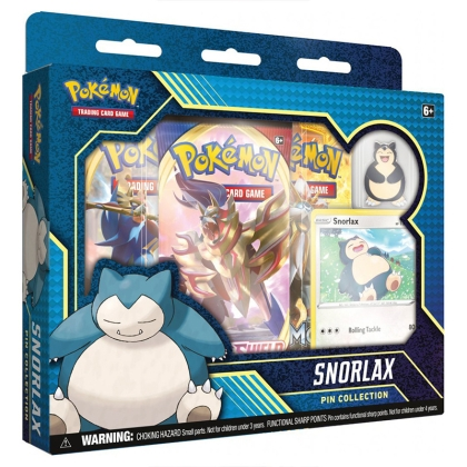 Pokemon TCG Pin Collection - Snorlax