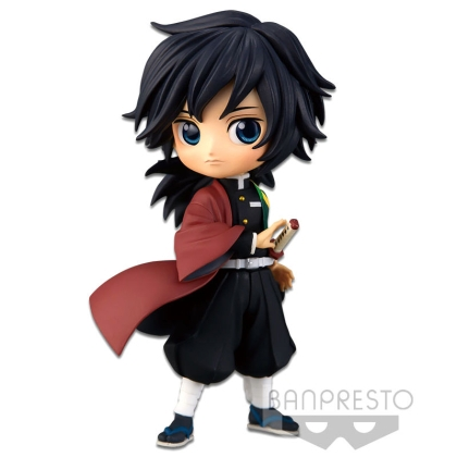 Demon Slayer Kimetsu no Yaiba Q Posket Petit Mini Figure Giyu Tomioka Vol. 2 7 cm