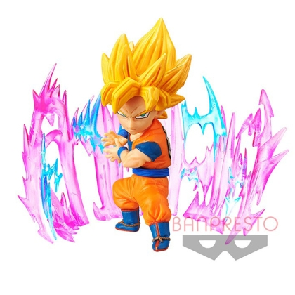 Dragon Ball Super WCF ChiBi Figures 7 cm Plus Effect Super Saiyan 2 Goku