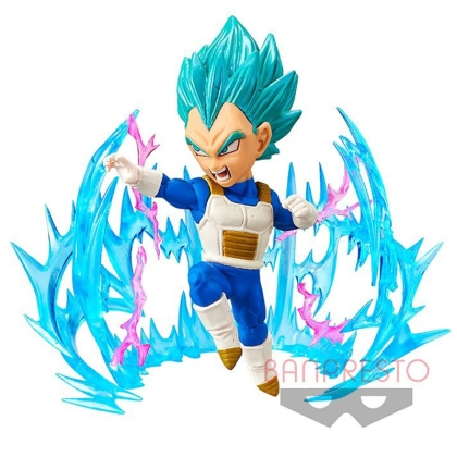 Dragon Ball Super WCF ChiBi Figures 7 cm Plus Effect Super Saiyan Blue Vegita