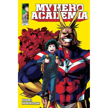 Манга: My Hero Academia Vol. 1