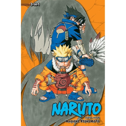 Манга: Naruto 3-in-1 ed. Vol.3 (7-8-9)