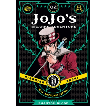 JoJo`s Bizarre Adventure Part 1 Phantom Blood Vol. 2