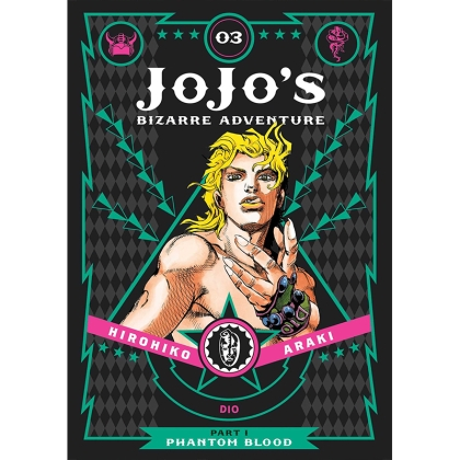 JoJo`s Bizarre Adventure Part 1 Phantom Blood Vol. 3