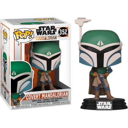 Star Wars The Mandalorian POP Vinyl Колекционерска Фигурка - Covert Mandalorian