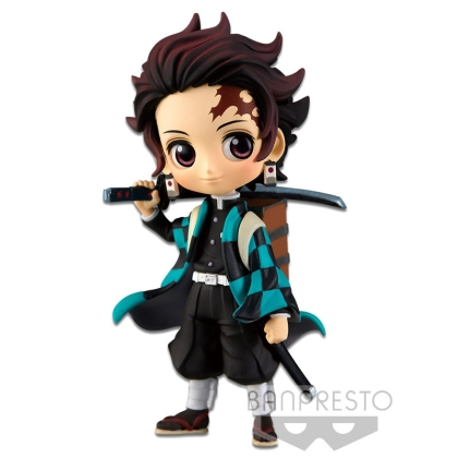 Demon Slayer Kimetsu no Yaiba Q Posket Petit Mini Figure Tanjiro Kamado Vol. 2 7 cm