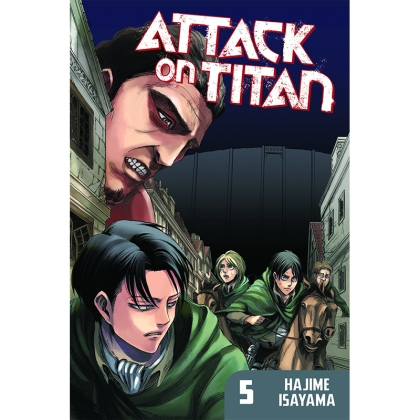 Манга: Attack On Titan vol. 5