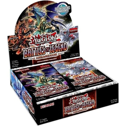 Yu-Gi-Oh! TCG Battles of Legends - Armageddon Бустер Кутия - 24 Бустера
