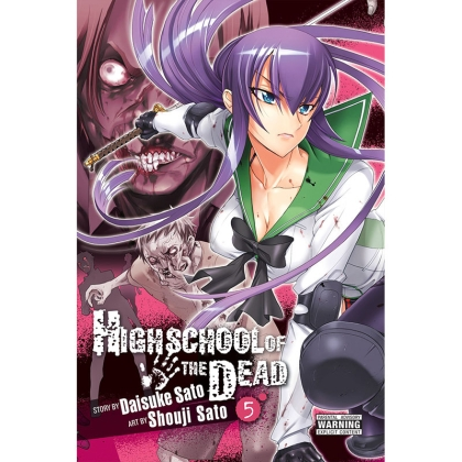 Manga:  Highschool of the Dead (Color Edition), Vol. 5