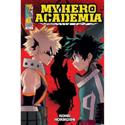Манга: My Hero Academia Vol. 2