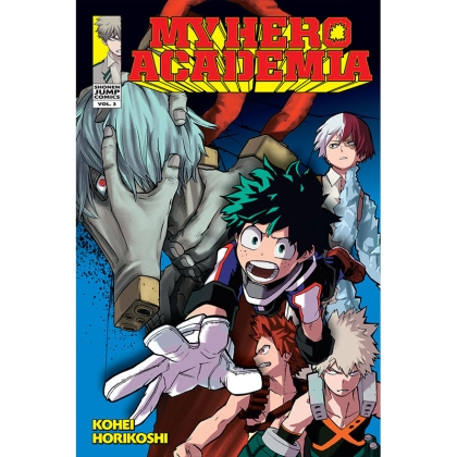 Манга: My Hero Academia Vol. 3