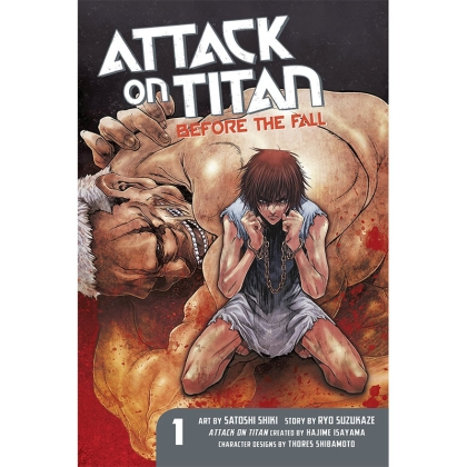 Манга: Attack on Titan: Before the Fall vol.1