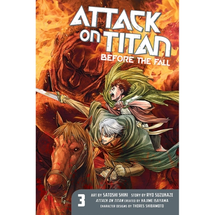 Манга: Attack on Titan: Before the Fall vol.3