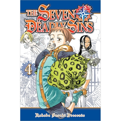 Манга: The Seven Deadly Sins 4