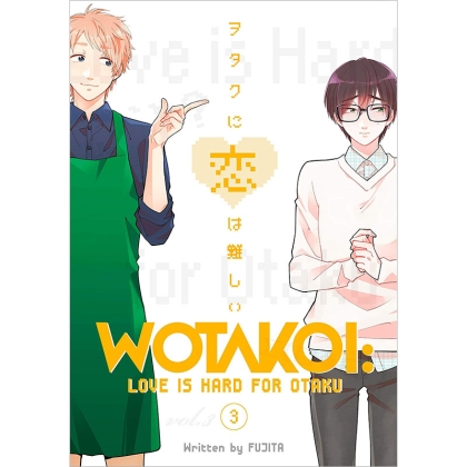 Манга: Wotakoi Love is Hard for Otaku 3