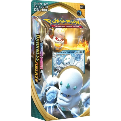 Pokemon TCG Sword & Shield - Darkness Ablaze Themed Deck - Galarian Darmanitan