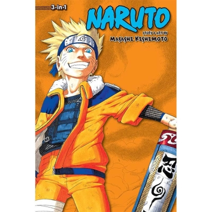 Манга: Naruto 3-in-1 ed. Vol.4 (10-11-12)