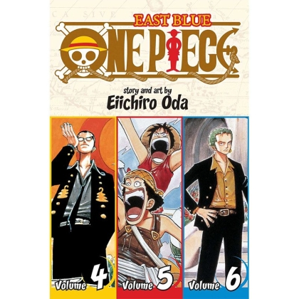 Manga: One Piece (Omnibus Edition) East Blue, Vol. 1 (1-2-3)