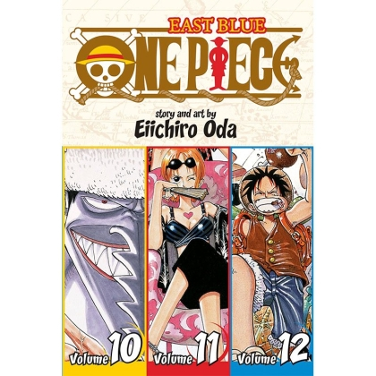 Манга: One Piece (Omnibus Edition) East Blue, Vol. 4 (10-11-12)