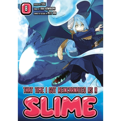 Манга: That Time I Got Reincarnated as a Slime 8