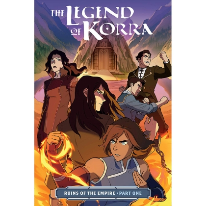 Комикс: The Legend of Korra Ruins of the Empire Part 1