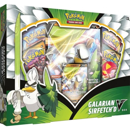 Pokémon TCG Galarian Sirfetch'd (September V) Box