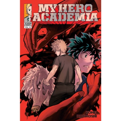 Манга: My Hero Academia Vol. 10