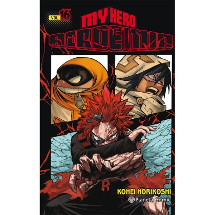 Манга: My Hero Academia Vol. 16