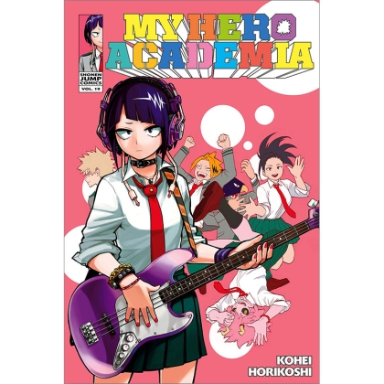 Манга: My Hero Academia Vol. 19 School Festival