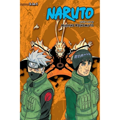 Манга: Naruto 3-in-1 ed. Vol. 21 (61-62-63)
